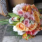 peach&pinkbouquet