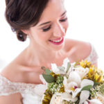 bride w:bouquet
